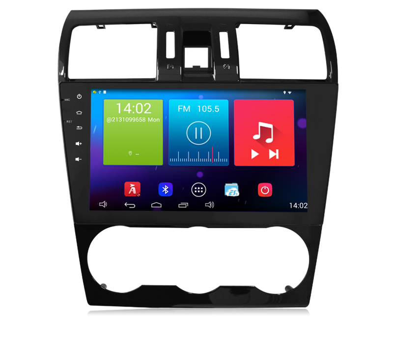 Штатная автомагнитола Android 4.4.2 Newsmy Carpad 3 NR9007 для Subaru Forester 2013-2014